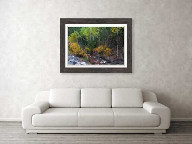 Beautiful Mountain Paradise Framed Print