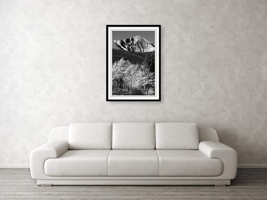 Longs Peak 14256 Ft Framed art Print