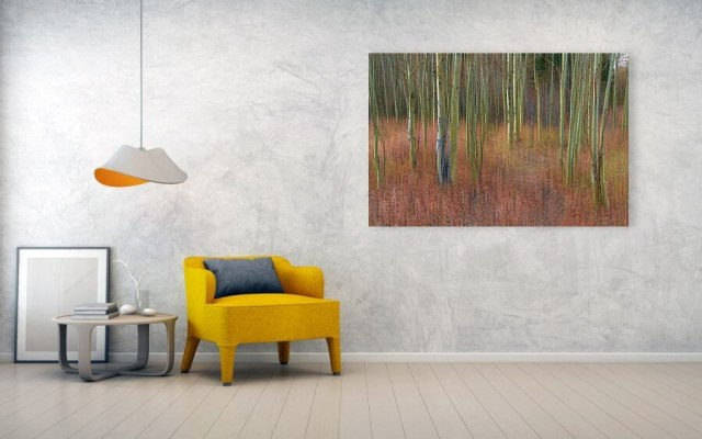 Ready to hang Soothing Wilderness Wonder Metal Print