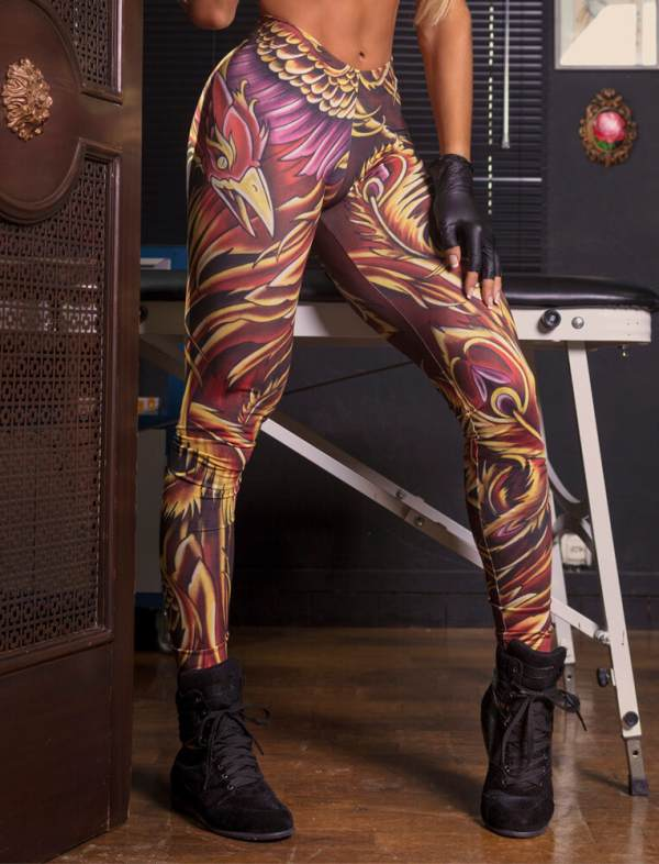 Legging Superhot Phoenix - CAL1170