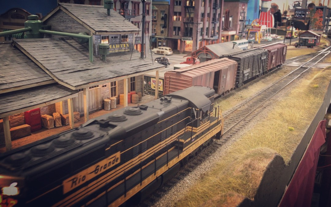 LT&N Homecoming, Boulder Model Railroad Club Train Expo 2016!