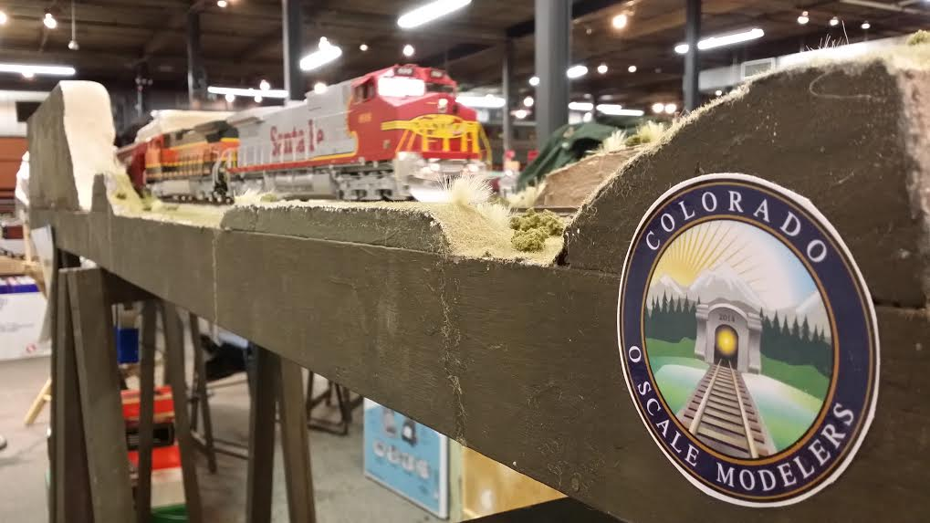 COSM was rolling at the Forney Train Show July 26th & 27th