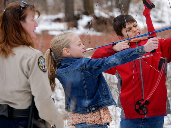 ranger and kids shooting