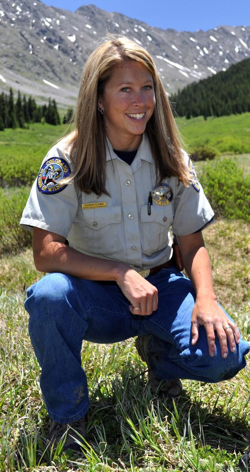 CPW Biologist Shannon Schaller