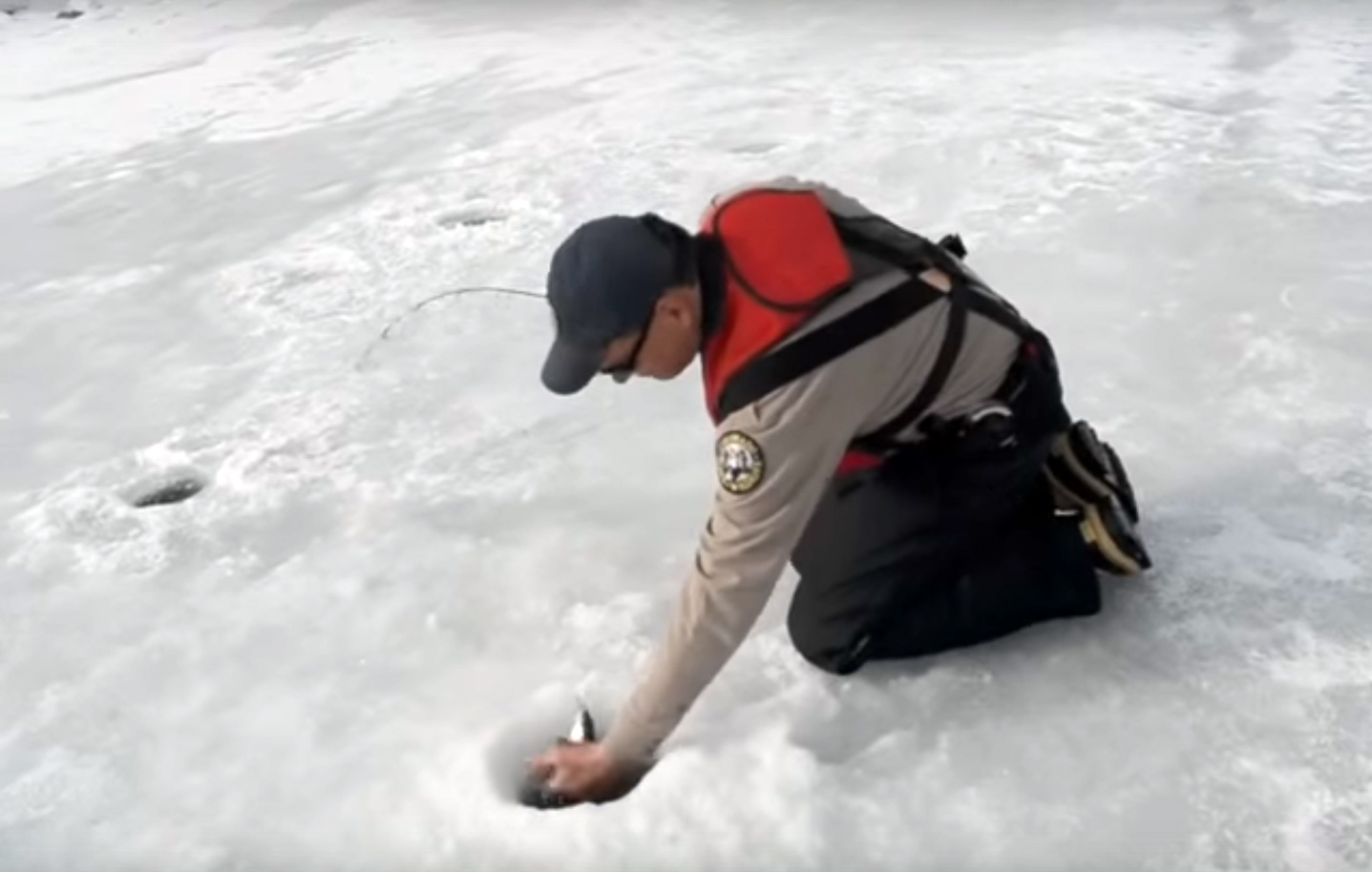 Ice Fishing at Mancos State Park