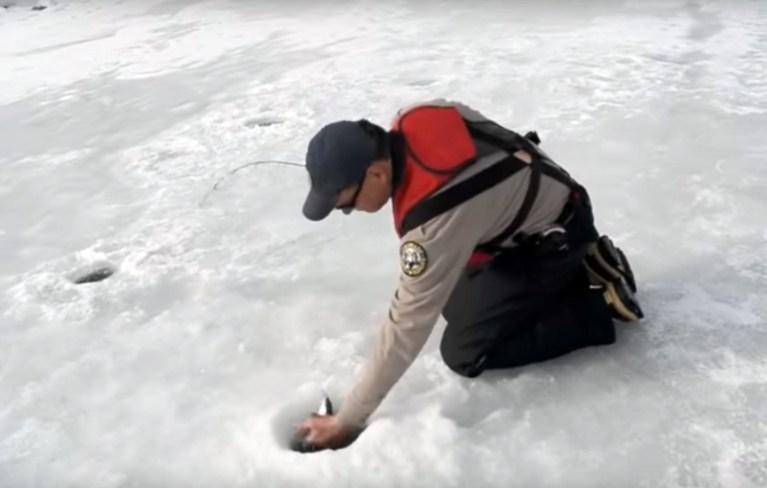 Ice Fishing at Mancos State Park