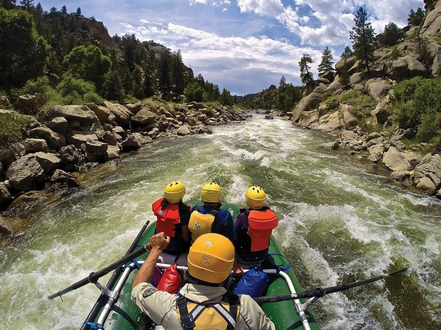 rafting the Arkansas River