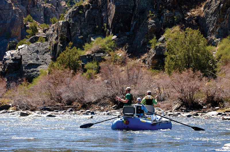 Floating a scenic slice of the Arkansas River through Browns Canyon