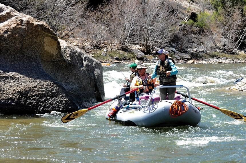 Float fishing the Arkansas River