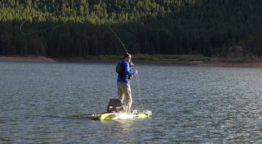 jerry fly fishing kayak