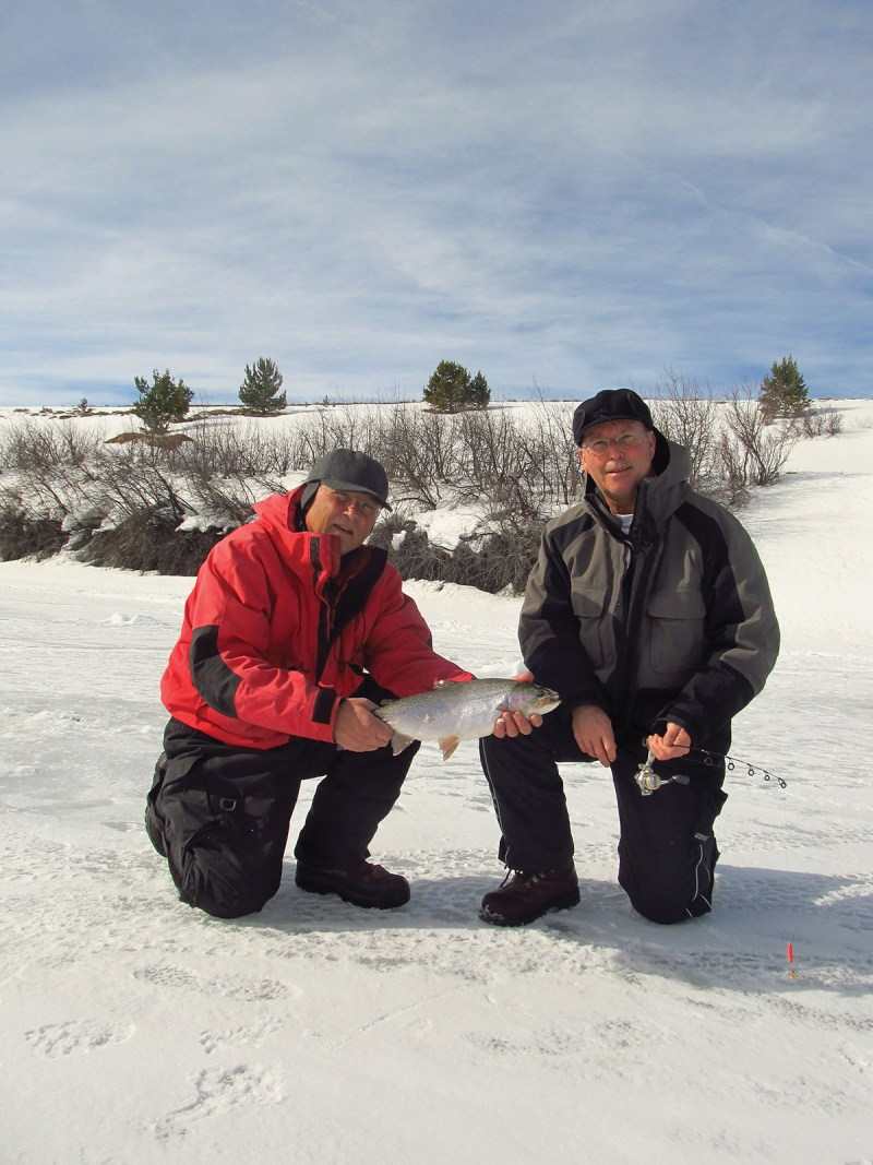 Walden Ice University Big Trout #3 Vertical
