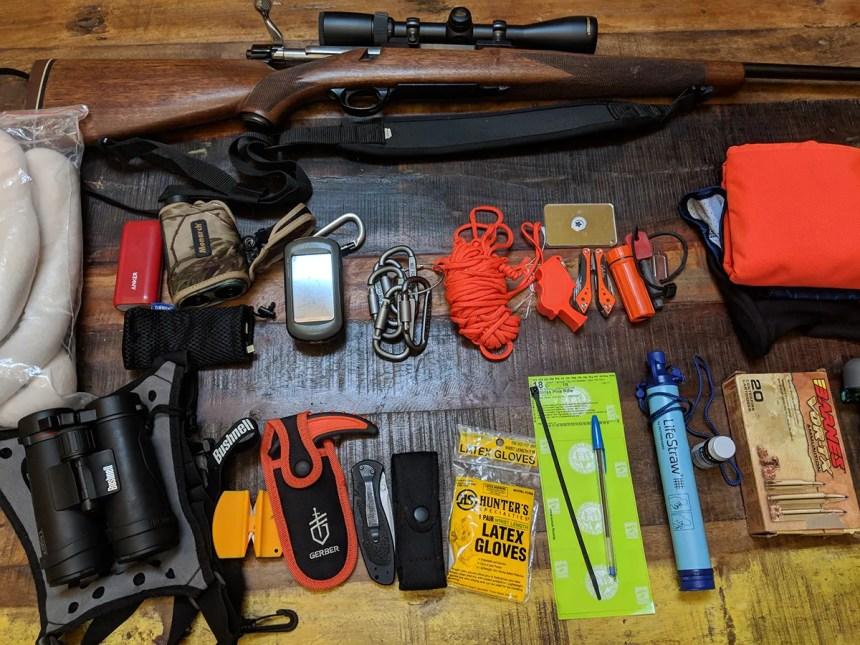 Hunting gear.