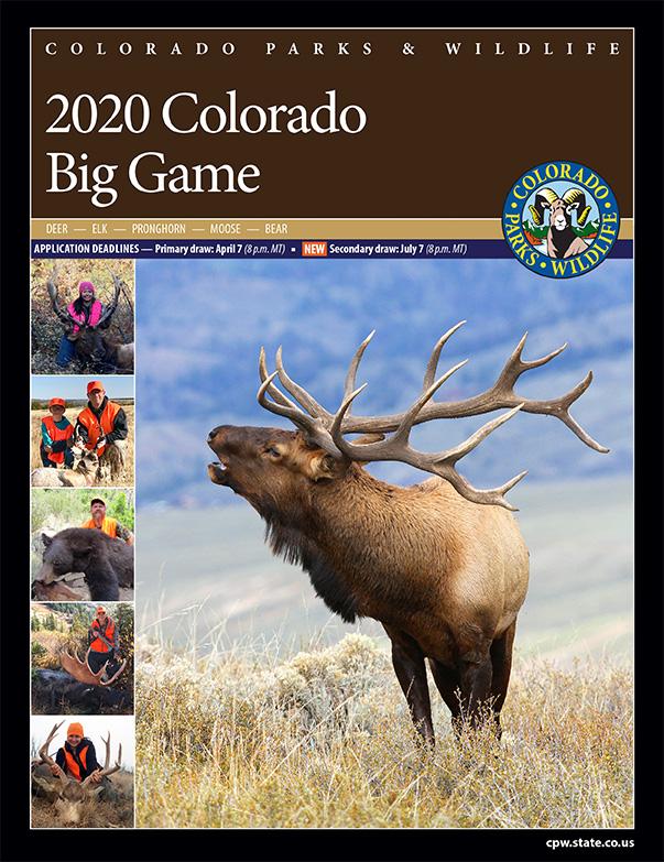 2020 Colorado Big Game Brochure
