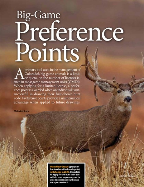 2020 Preference Point Issue cover