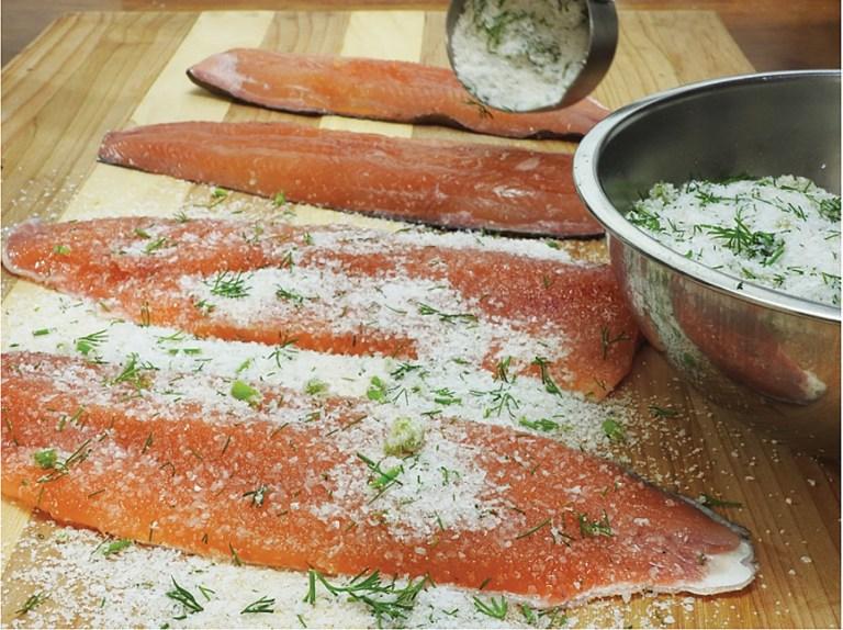 trout filet