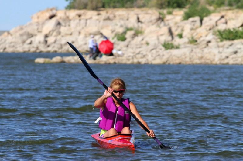Kayaking John Martin Reservoir State Park