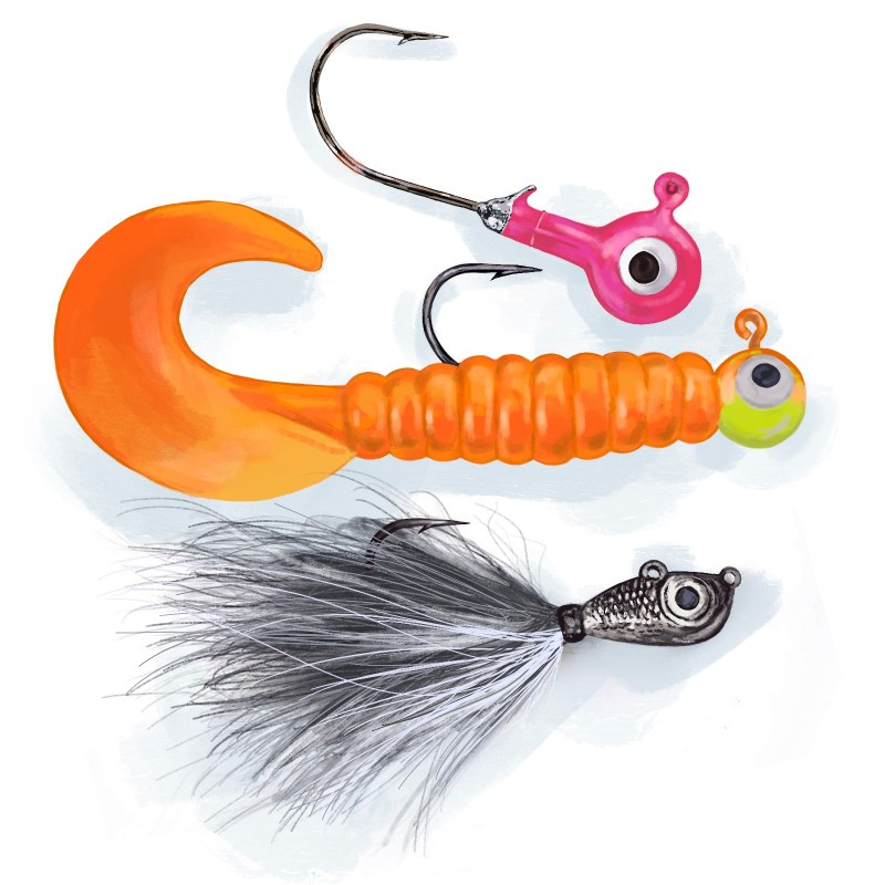 fishing lures - jigs