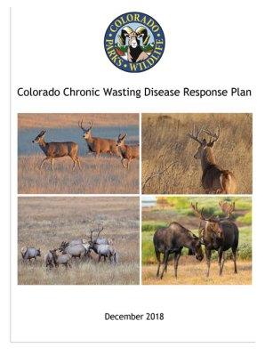 Colorado Chronic Wasting Disease Response Plan cover