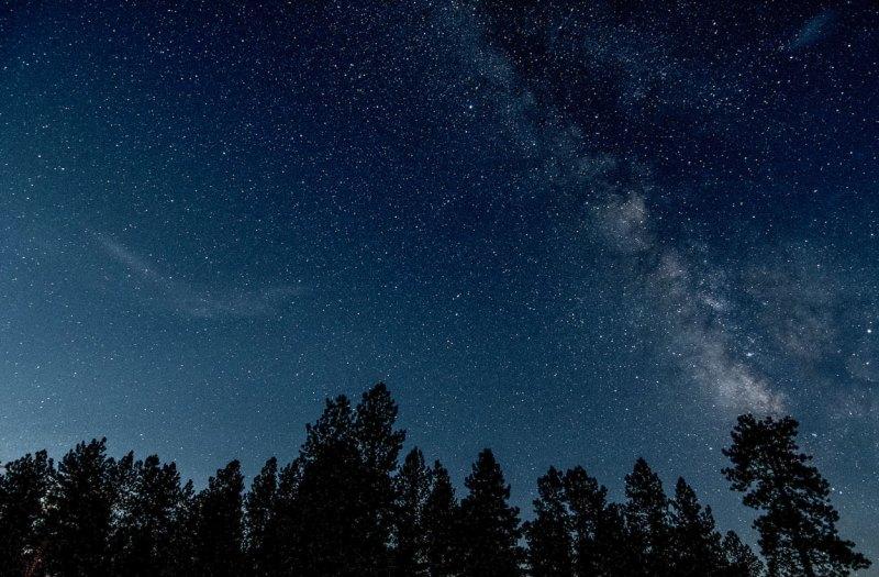 Colorado's night sky