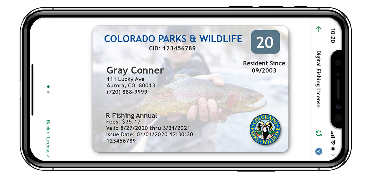 MyColorado Fishing License