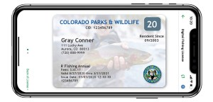 MyColorado Fishing License