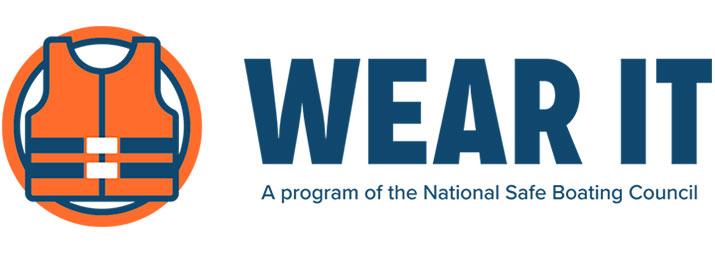 National Safe Boating Campaign - Wear IT logo