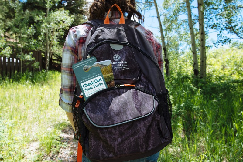 check out state parks back packs