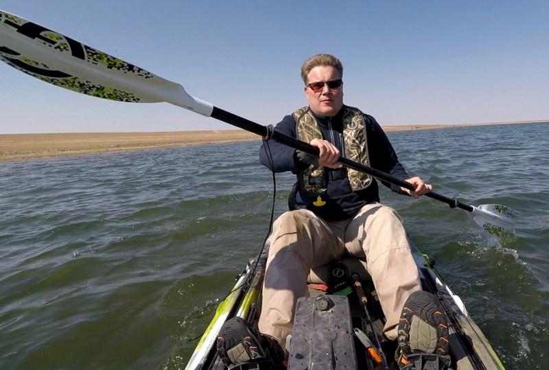 paddling FeelFree Kayak