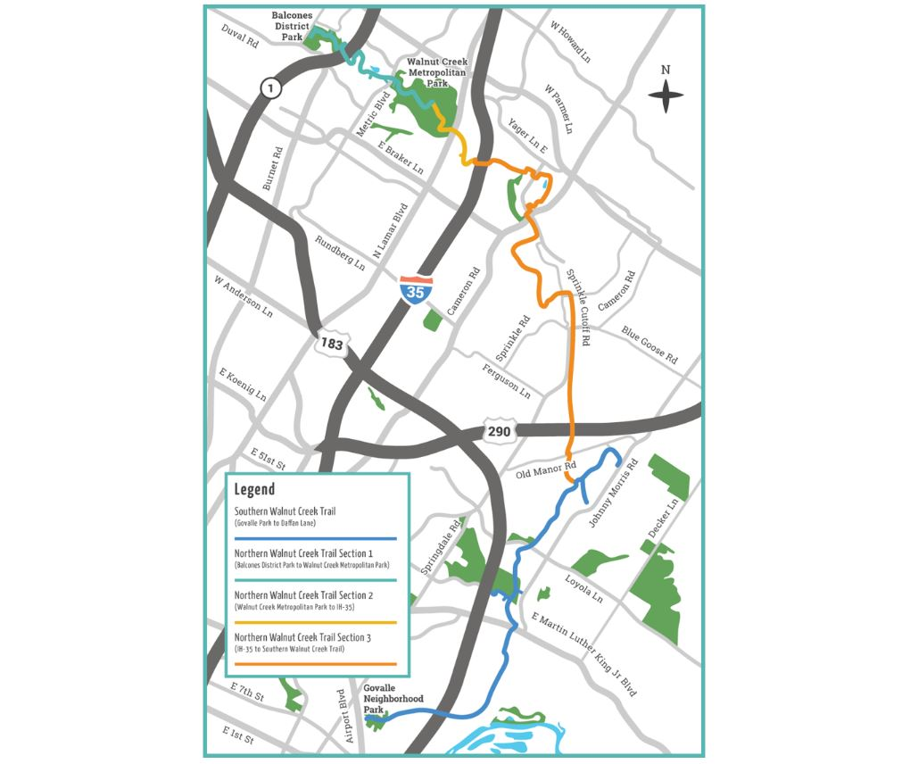 City of Austin Expansion of the Walnut Creek Trail System