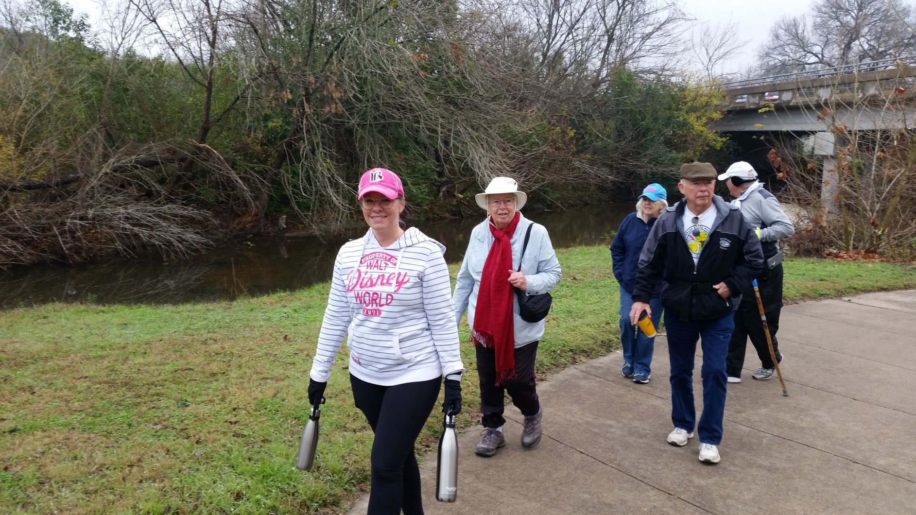 Group Walks in Pflugerville and San Antonio on June 27th
