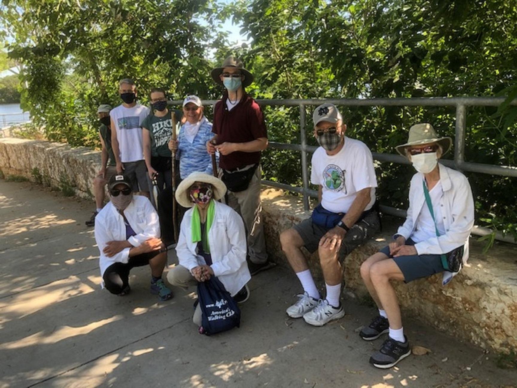 Lady Bird Lake YRE Group Walk in May