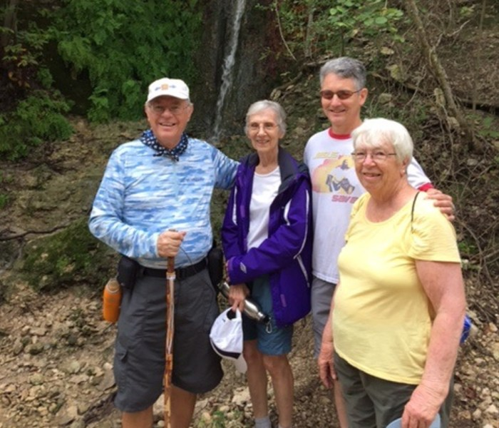 Group Walk of Cedar Park YRE on July 4th
