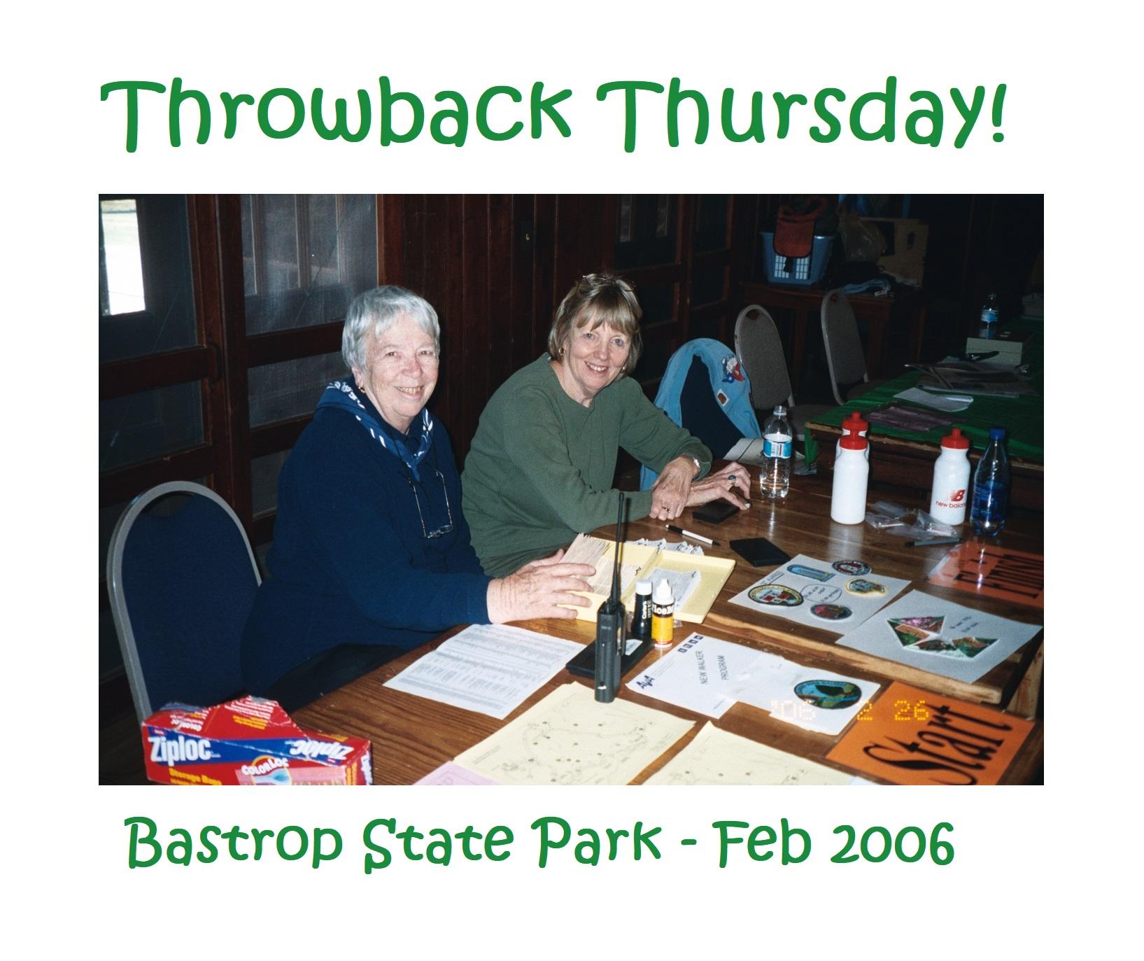 Bastrop State Park Walk, February 2006