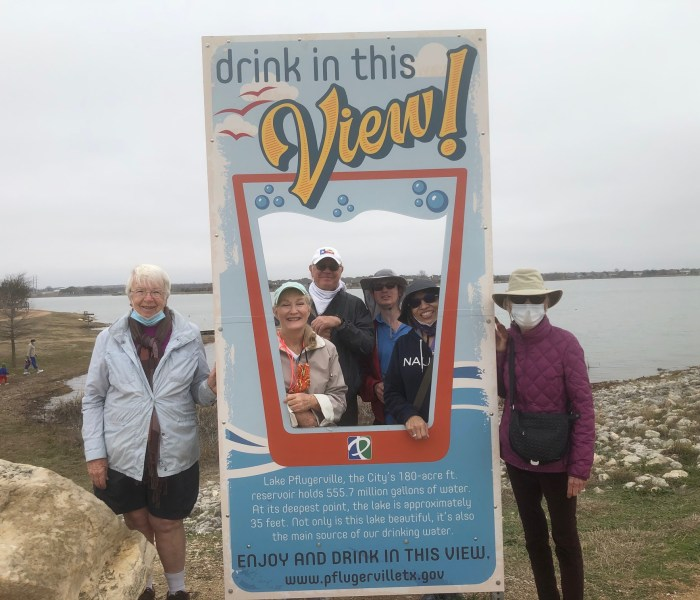 Photos from Lake Pflugerville Walk on Jan 23rd
