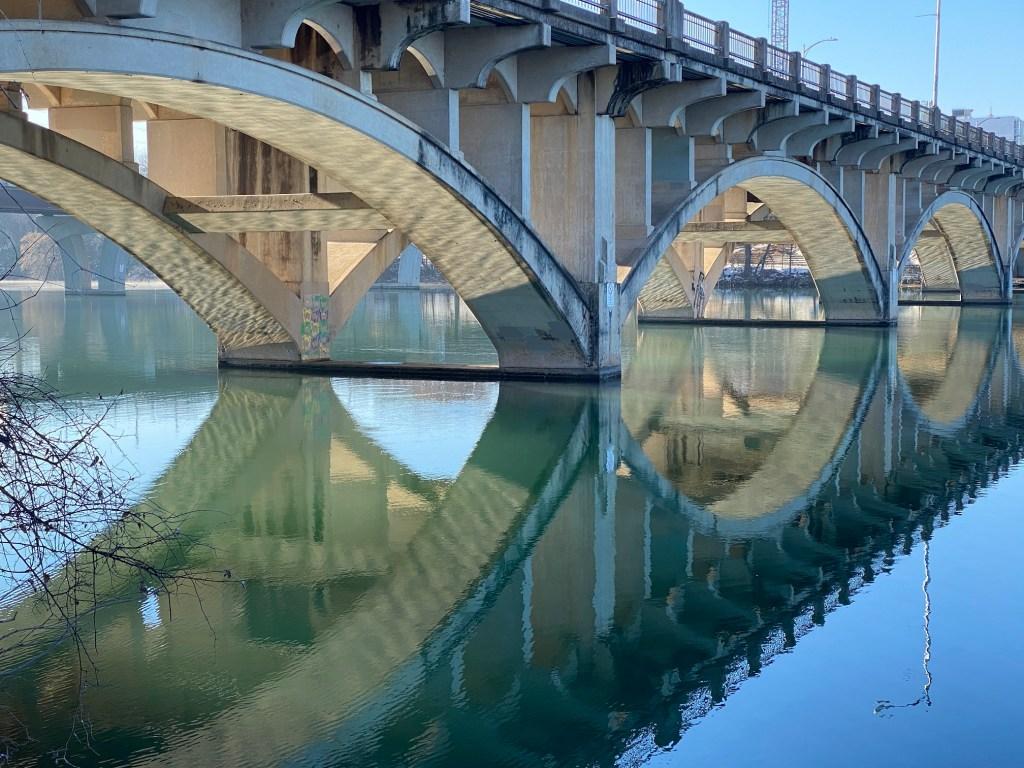Lamar Blvd bridge in Austin