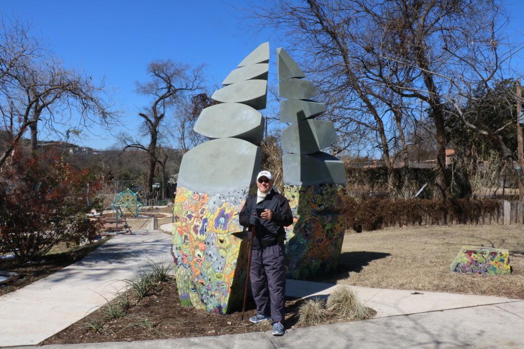 Eilers Park, sculpture