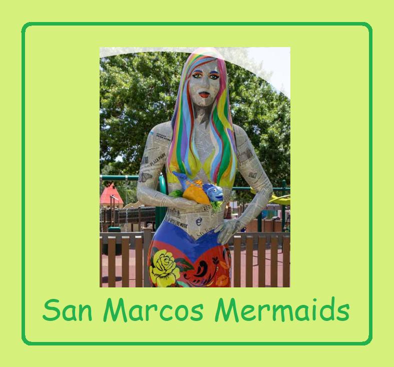 Group Walk of San Marcos Mermaid YRE on May 29th