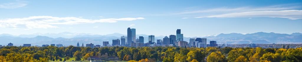 Denver Skyline at Noon
