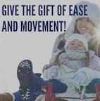 Holiday Promotion: give the gift of ease and movement with the Alexander Technique