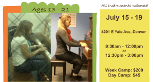 Music summer camp with Anna Sobotka