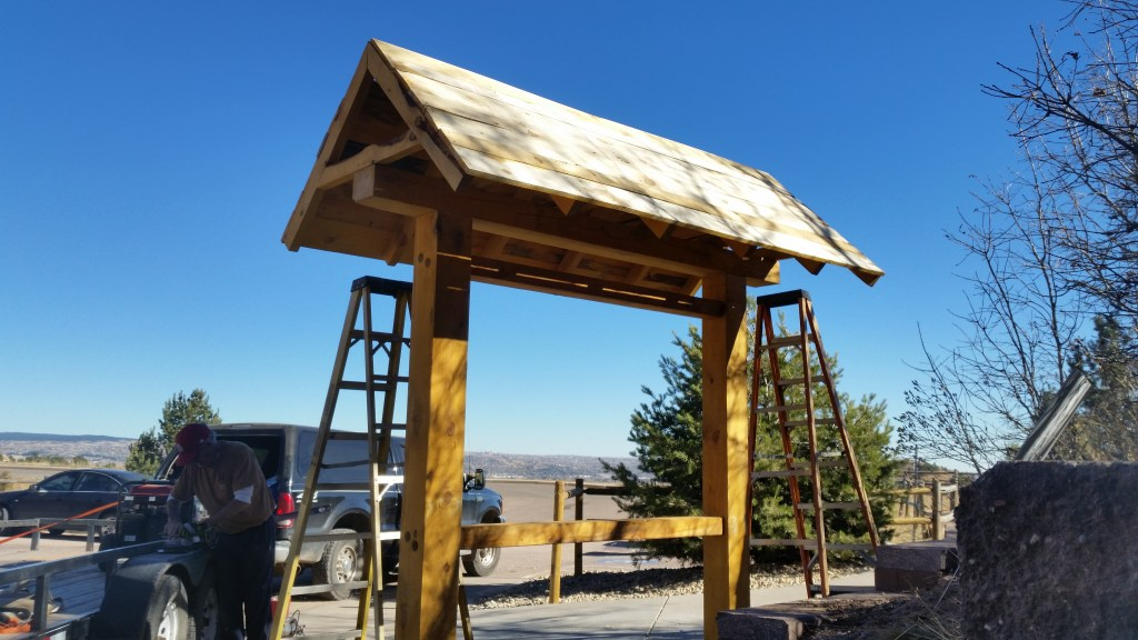 Timber Frame Signboard