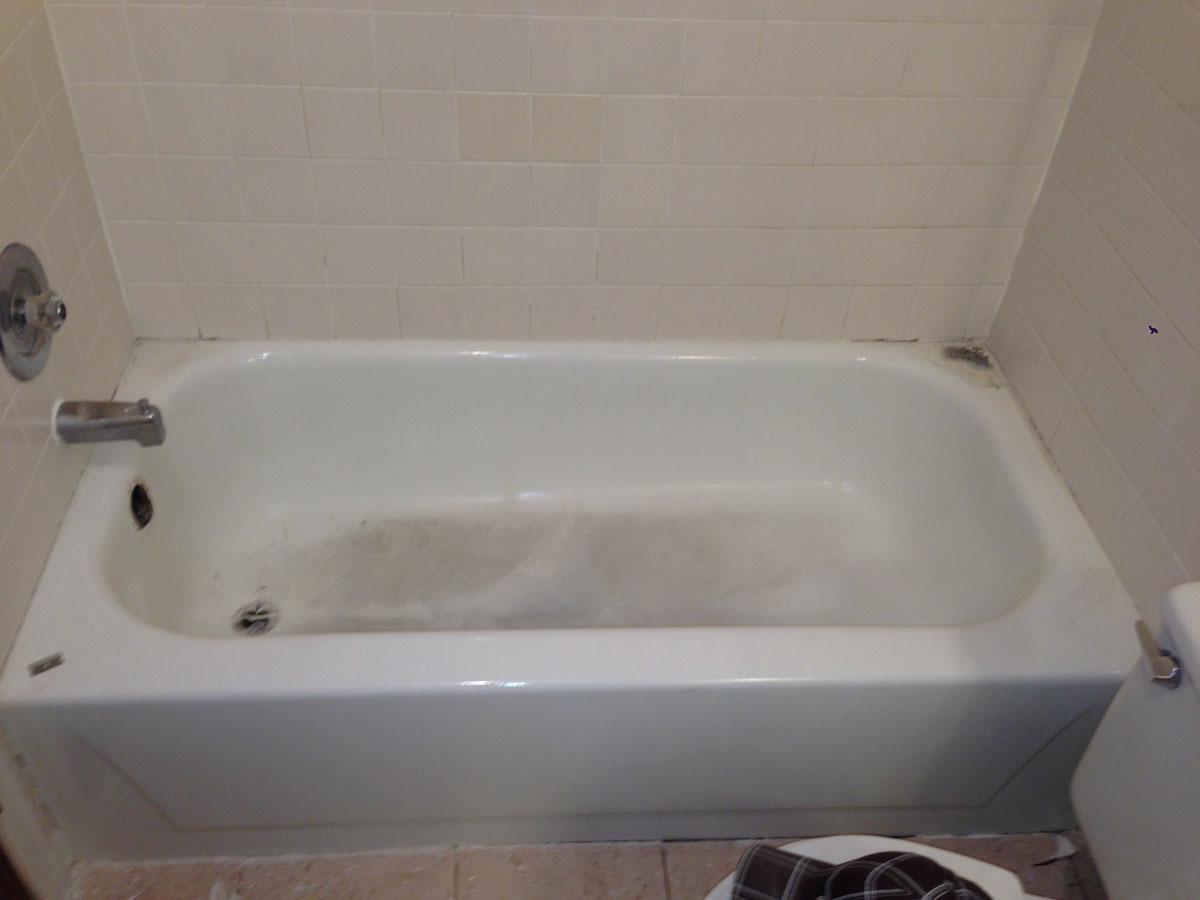 Before Amp After Colorado Tub Repair