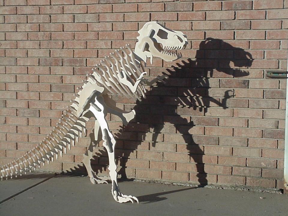Wood T-Rex