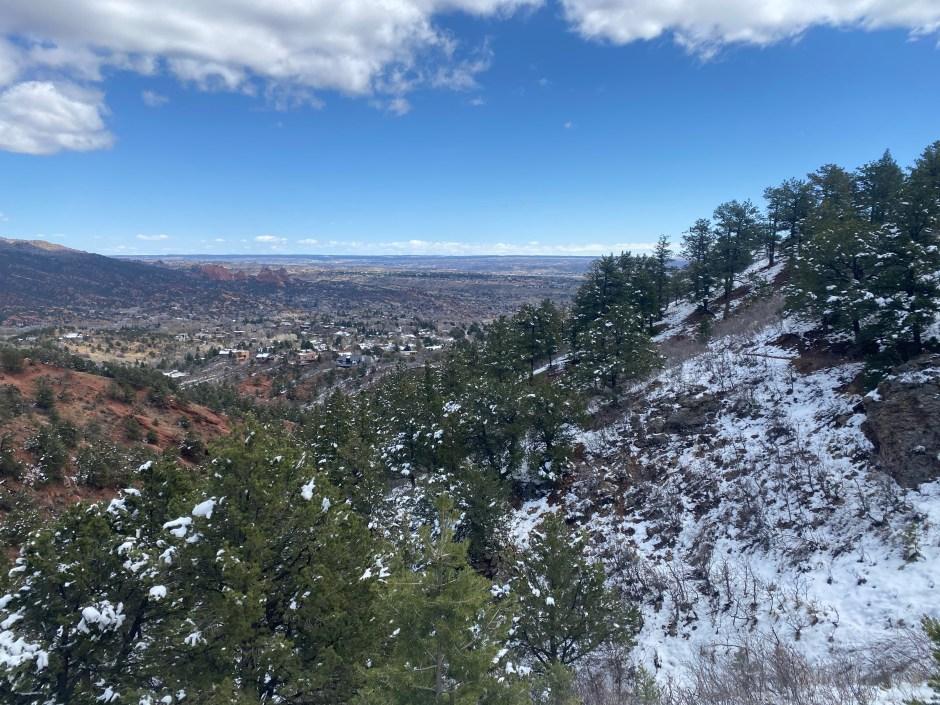 views from Intemann Trail