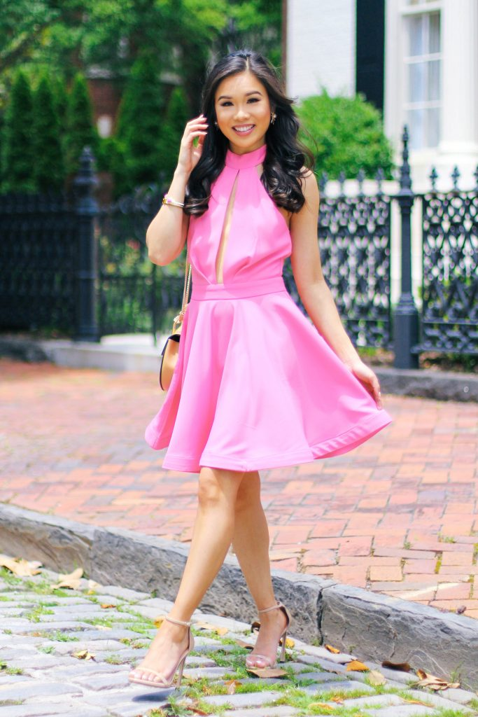 Ultra Girly Skater Dress For A Wedding Color Amp Chic