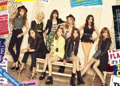 Girls' Generation (少女時代) – Paparazzi (OT8 Ver.)