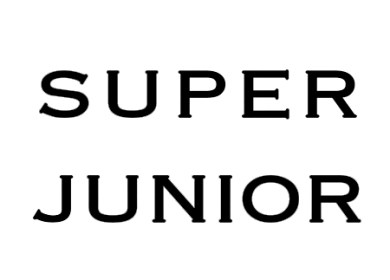 Super Junior Lyrics Index