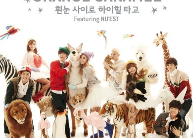 Orange Caramel & NU'EST – Dashing Through The Snow with High Heels (흰눈 사이로 하이힐 타고)