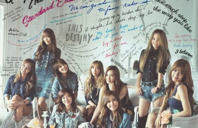 Girls' Generation (少女時代) – Divine (OT8 Ver.)