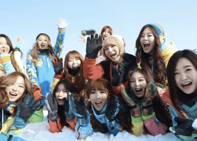Dal★Shabet (달샤벳) X Minx (밍스) – Rockin' Around The Christmas Tree